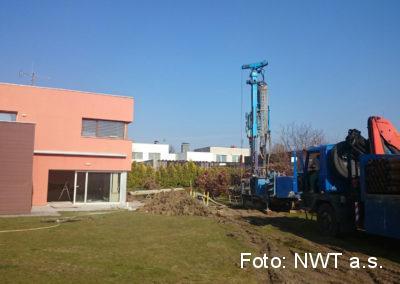 Rekonstrukce vytápění v rodinném domě, fotovoltaická elektrárna Kroměříž
