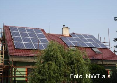 Fotovoltaická elektrárna pro vlastní spotřebu, Bílany u Kroměříže