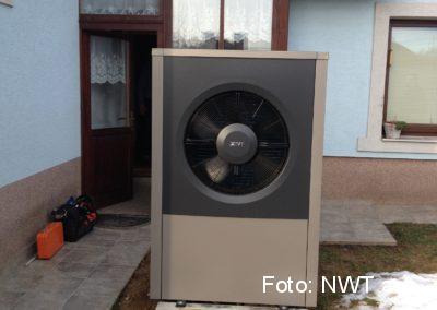 Tepelné čerpadlo a fotovoltaická elektrárna, Selce