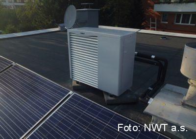 Tepelné čerpadlo a Fotovoltaická elektrárna, Zlín