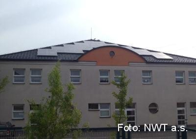 Fotovoltaická elektrárna, Kroměříž