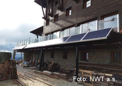Fotovoltaická elektrárna, Lysá Hora