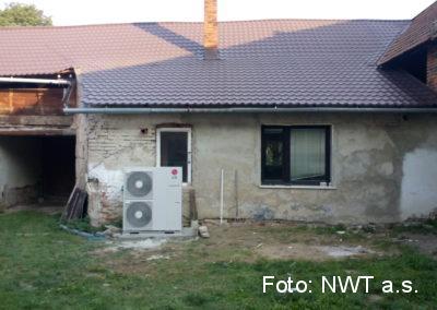 Tepelné čerpadlo, Němčice