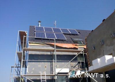 Tepelné čerpadlo a fotovoltaická elektrárna, Klenovice