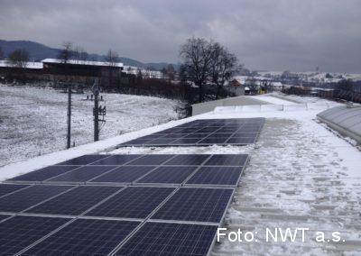 Fotovoltaická elektrárna, Vizovice