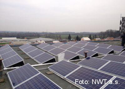 Fotovoltaická elektrárna, Olomouc