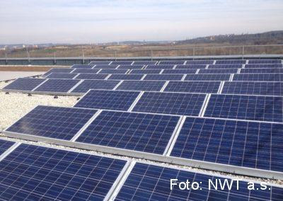 Fotovoltaická elektrárna, Ostrava