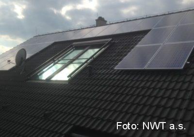 Fotovoltaická elektrárna, Vranov u Brna