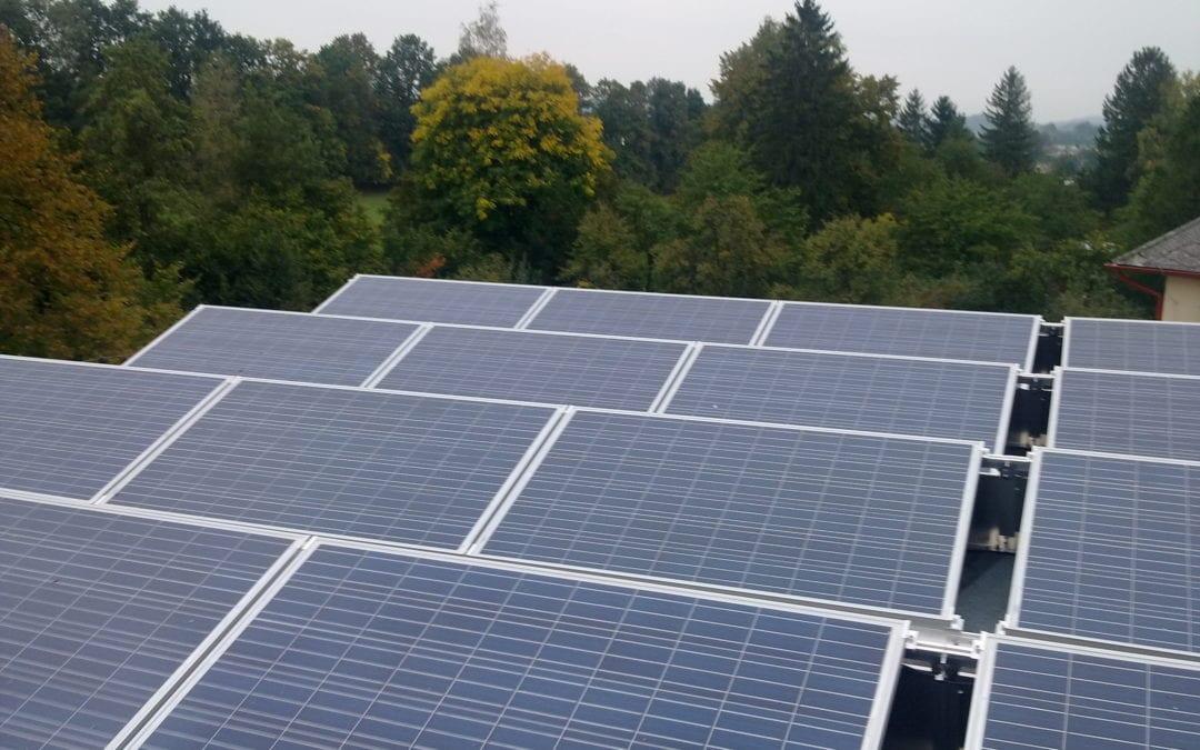Fotovoltaická elektrárna, Zlaté Hory