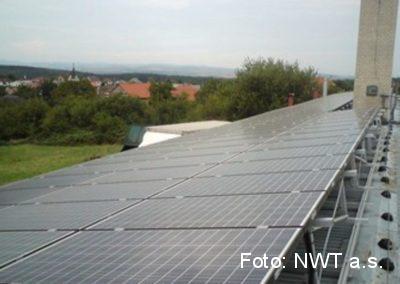 Fotovoltaická elektrárna, Lhota