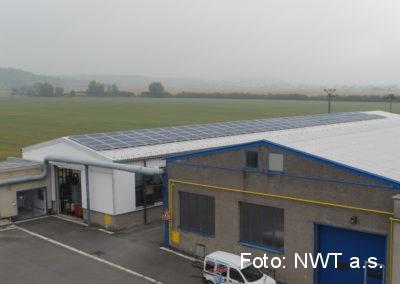 Fotovoltaická elektrárna, Holice