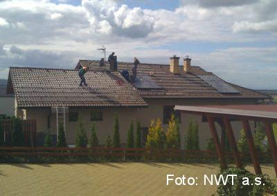 Fotovoltaická elektrárna, Fryšták