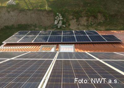Fotovoltaická elektrárna, Jeseník