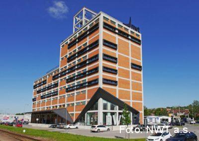 Rekonstrukce administrativní budovy, Zlín