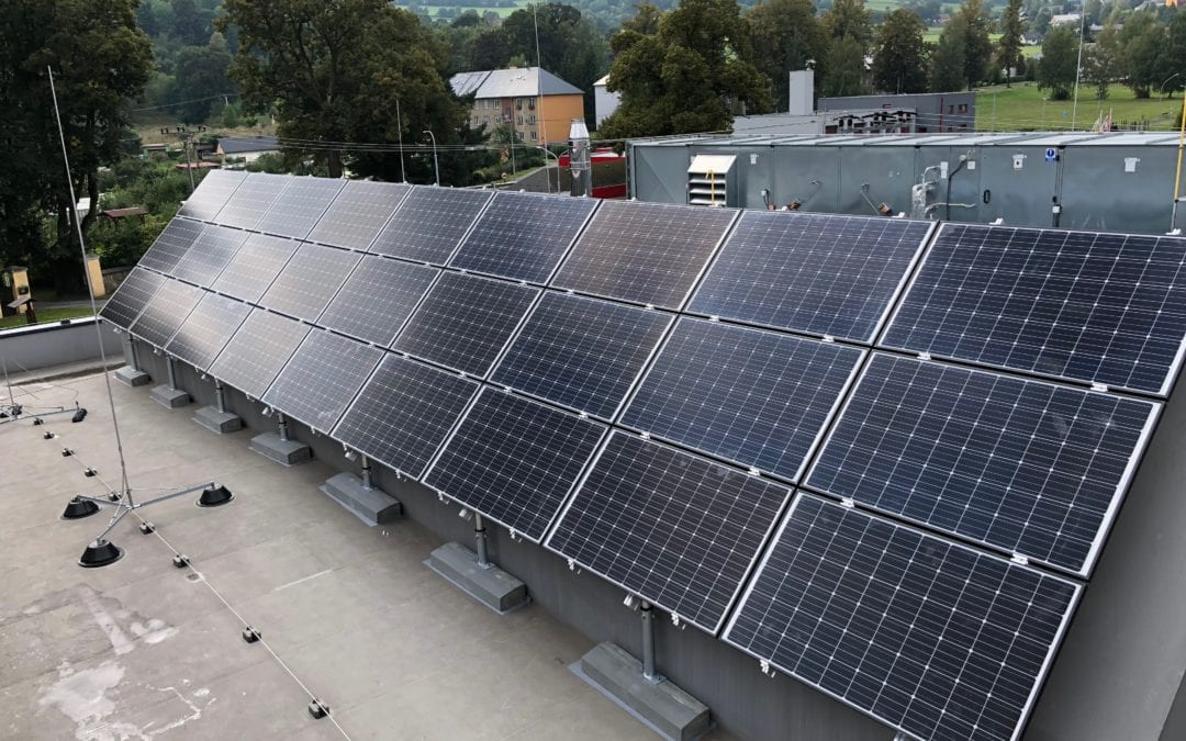 Fotovoltaická elektrárna, Vrbno pod Pradědem
