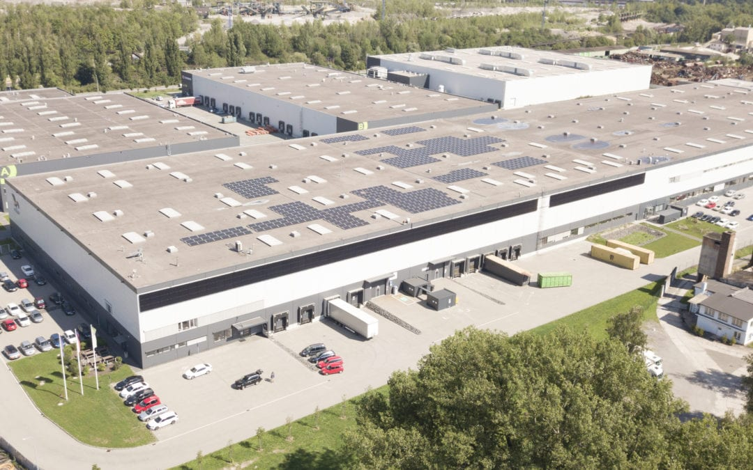 Fotovoltaická elektrárna s bateriemi, Ostrava
