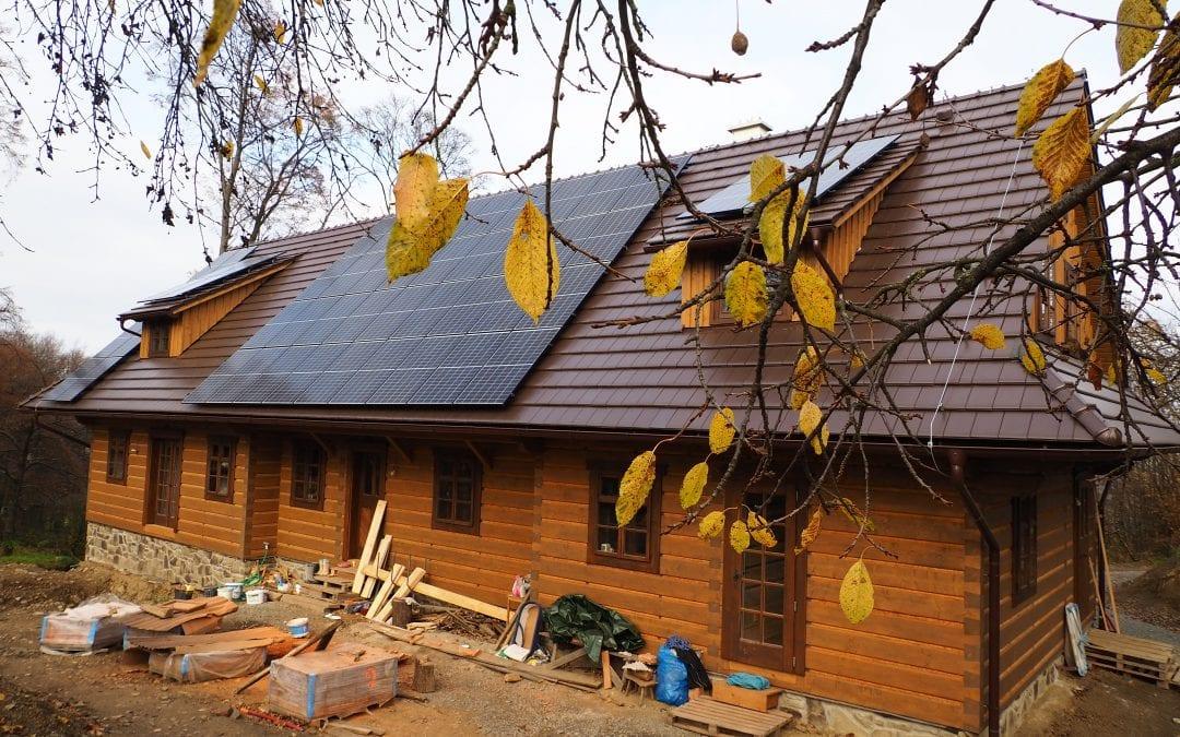 Energeticky soběstačná dřevěnice – Valašsko